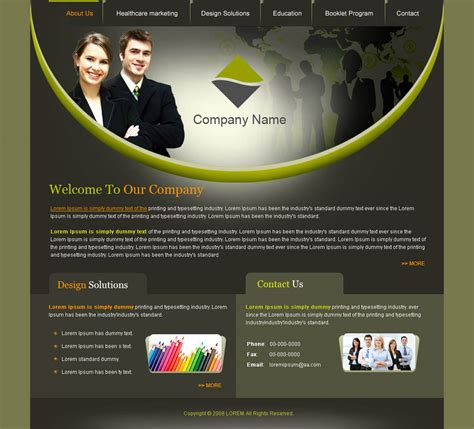 how web design templates are created every web design template is built using the html and the