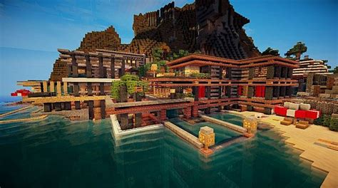cove house minecraft project