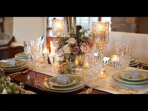 Great Gatsby Wedding Centerpieces YouTube
