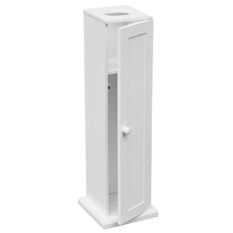 Toilet Roll Holder Cupboard by White Wooden Bathroom Toilet Paper Roll Holder Floor