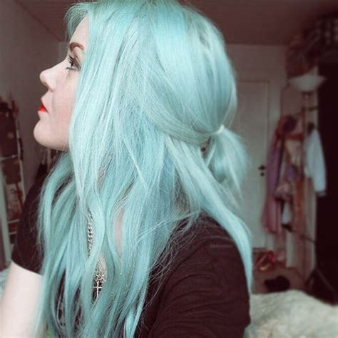 Cool Hair Colors For Black Hair by Mint Green Hair Color Archives Vpfashion Vpfashion