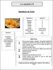 recette de la cuisine la recette mimiclass