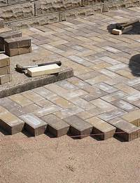 how to lay brick patio DIY How To Lay a Level Brick Paver Patio - Quiet Corner