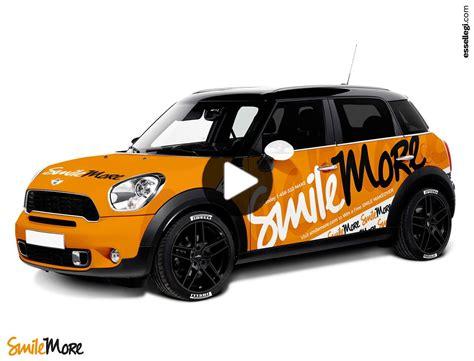 Mini Cooper Countryman   Car Wrap Design by Essellegi in 2020   Car wrap, Mini cooper countryman ...