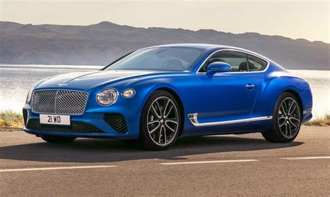 New Bentley Continental Gt Brings More Power, Technology