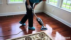 How to steam mop a hardwood floor savvycleaner youtube for Can you steam clean laminate floors