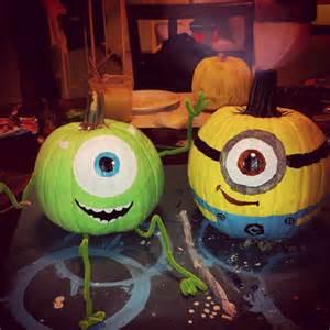 Mike Monsters Inc Pumpkin Pattern by 25 Cool Diy Minion Pumpkins For Halloween Home Design