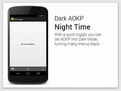 Aokp Features Android Handy Shown Infographics Cyanogenmod