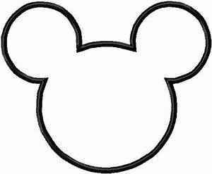 Mickey Mouse Head Templates. | Oh My Fiesta! in english