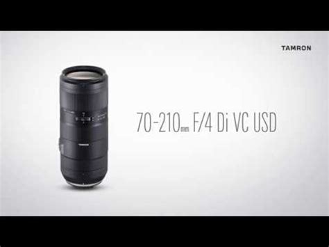 tamron announces 70 210mm f 4 and 28 75mm f 2 8 lenses lensvid comlensvid