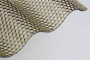 Wellplatten Polycarbonat Hagelfest : lichtplatte acryl 3mm wabe bronze ~ Orissabook.com Haus und Dekorationen