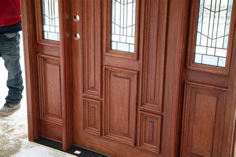 Glass Panel Exterior Doors