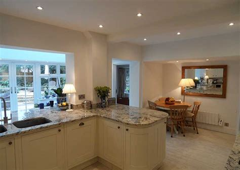 green kitchen diner kitchen extensions in south oakley green kitchen 1406