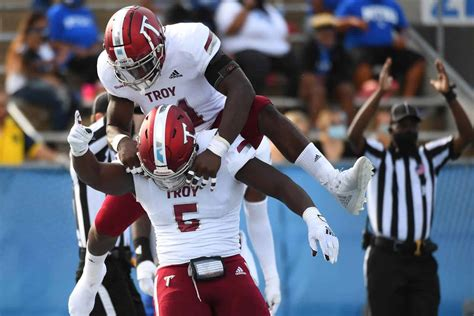 Troy at South Alabama football game rescheduled for ...