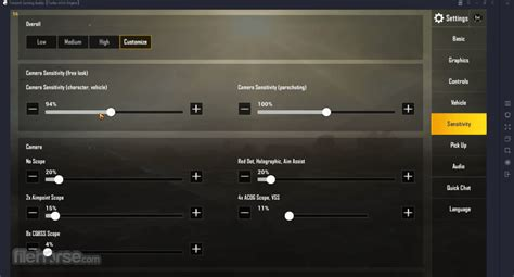 Open and run the client application Tencent Gaming Buddy 1.0.8746.123 Download for Windows / Old Versions / FileHorse.com