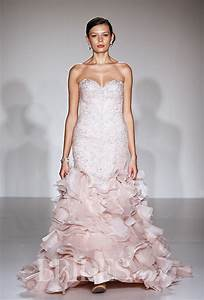valentine39s day inspired wedding gowns from blush to glam With valentine wedding dresses