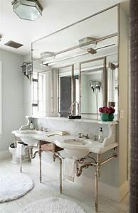 choisissez un joli lavabo retro pour votre salle de bain With porte d entrée pvc avec meuble salle de bain double vasque style ancien