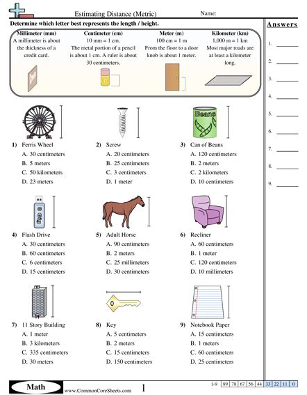 4 md 1 worksheets