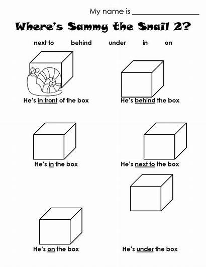 Worksheet Preposition Prepositions Worksheets Kindergarten Place Printable