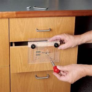 Drawer Pull JIG IT® and Center Punch Rockler Woodworking