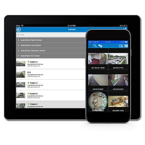 exacq mobile free app exacq from tyco security products