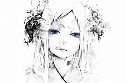 Anime 1080p Wallpapers Face Eyes Windows Wallpaperscraft