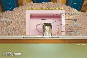 Can you put insulation around recessed lights industrial