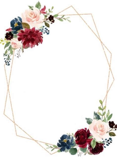 pin  delinnserena  floral wreath watercolour