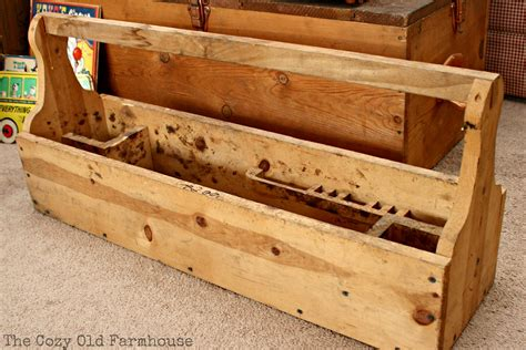 plans wooden toolbox  woodworking
