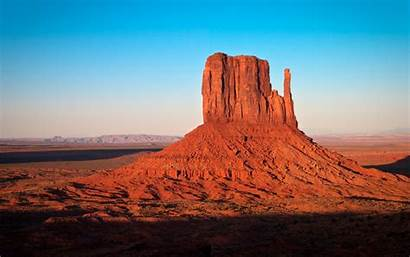 Arizona Desert Rock Monument Valley Background Formations