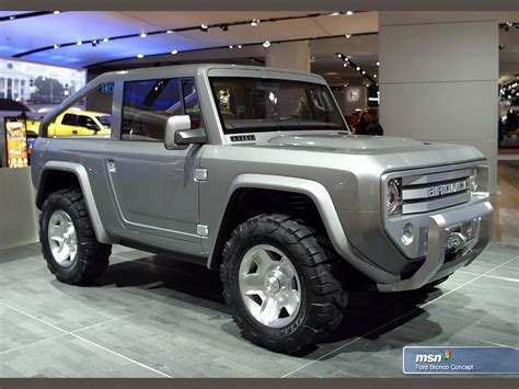 bronco prototype 2014 ford bronco suv 2015 ford bronco concept youtube