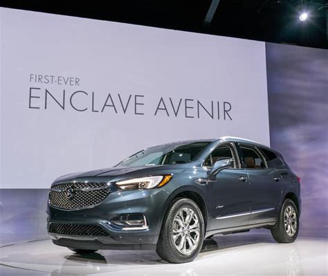 Show All Buick Models by All New 2018 Buick Enclave Avenir Debuts At New York Auto Show