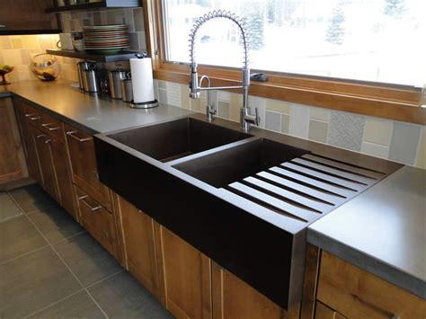 concrete kitchen sink 323 best concrete cement decoration images on 2431