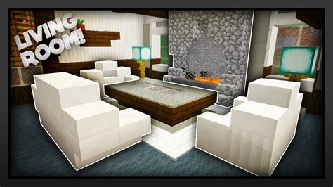 minecraft     traditional living room youtube