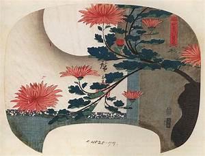 File:Hiroshige, Chrysanthemums.jpg - Wikimedia Commons