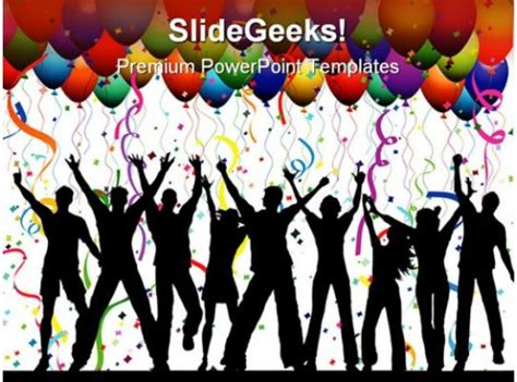 party background lifestyle powerpoint templates