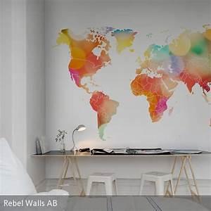 Tapete Weltkarte Kinderzimmer : die besten 25 weltkarte tapete ideen auf pinterest weltkarte wallpaper 5 kontinente und ~ Sanjose-hotels-ca.com Haus und Dekorationen