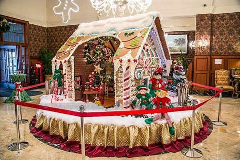royal park hotel gingerbread house  arising images