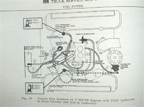 79 Scout Ii Wiring Diagram by 1980 Scout Ii Vacuum Diagram Binderplanet