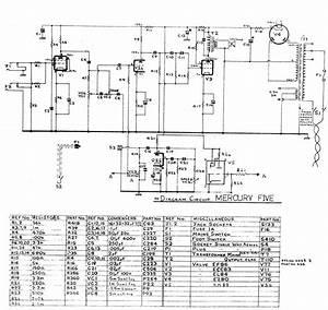 Selmer Mercury 5 Amp Schematic