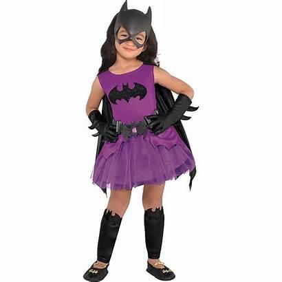 Batgirl Costume Batman Purple Toddler Party Partycity