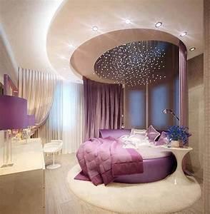 Home Decor: Purple luxury bedroom designs