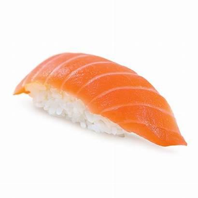 Nigiri Sushi Salmon Sake Rolls California Raw