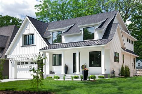 A White And Wood House For A Stylish Family by 24 Stylish Home Black And White Exterior Design