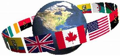 Asamblea Todos Tierra Mundo Banderas Instituto Evangelico