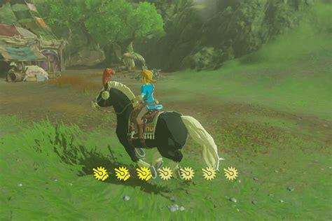 zelda breath wild horse endura stamina extra carrots guide called stories story