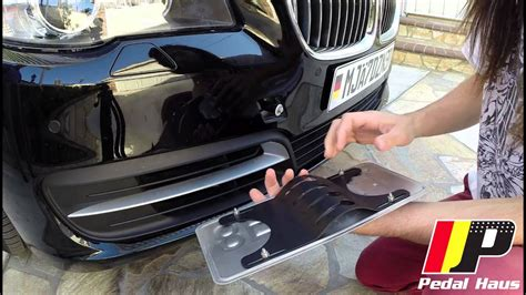 quick release  holes license plate mount diy youtube