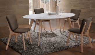 table salle a manger ovale design table de salle 224 manger en bois massif 29 designs modernes