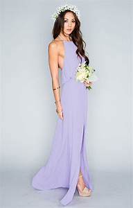 Lilac Dresses and Gowns Ideas for Trendy Ladies ...