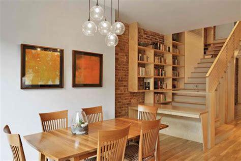 ruang tamu  sentuhan desain kayu rancangan desain